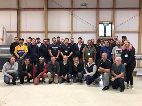 EWPAA Plywood & LVL Production Course a great introduction to industry