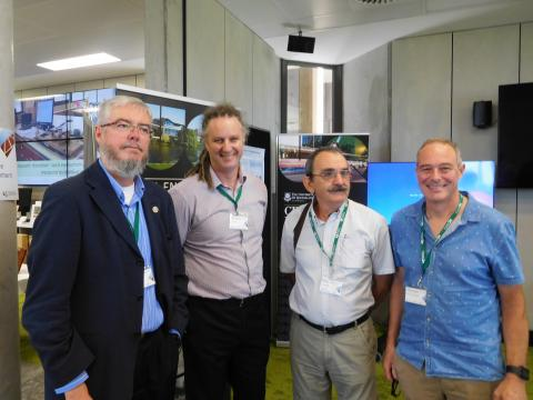 EWPAA officials at launch of National Centre for Timber Durability and Design Life