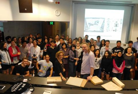 EWPAA lecture a school of thought for young architects