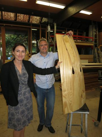Students hold key to future designs in engineered wood